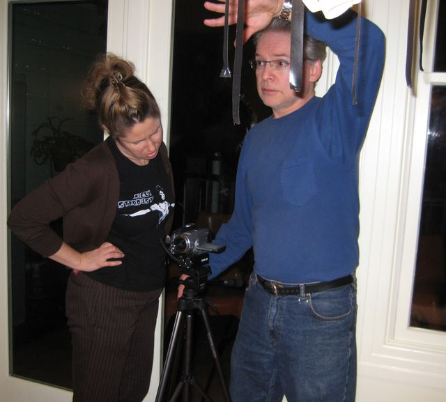 Marie (director) and Robin (cinematographer)