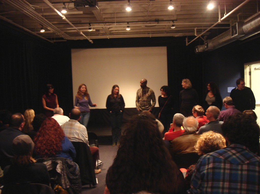 Q and A from the screening Nov 9, 2012
